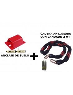 CADENA ANTIRROBO 2MT + 1...