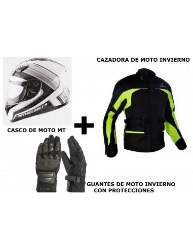 PACK CAZADORA INVIERNO + CASCO...