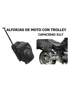 ALFORJAS DE MOTO TROLLEY CON RUEDAS